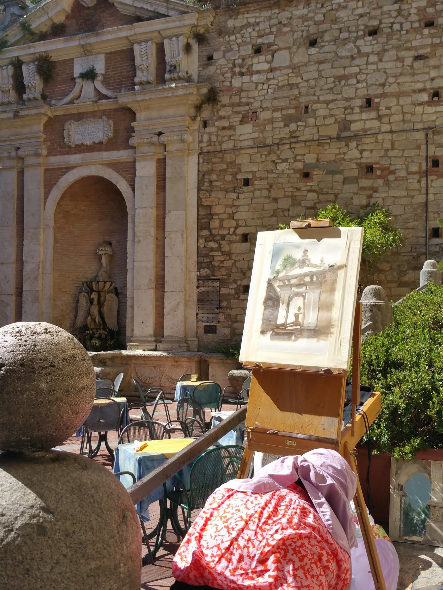 Hotel Fonte Cesia - la photogallery - photogallery - Corso di pittura
