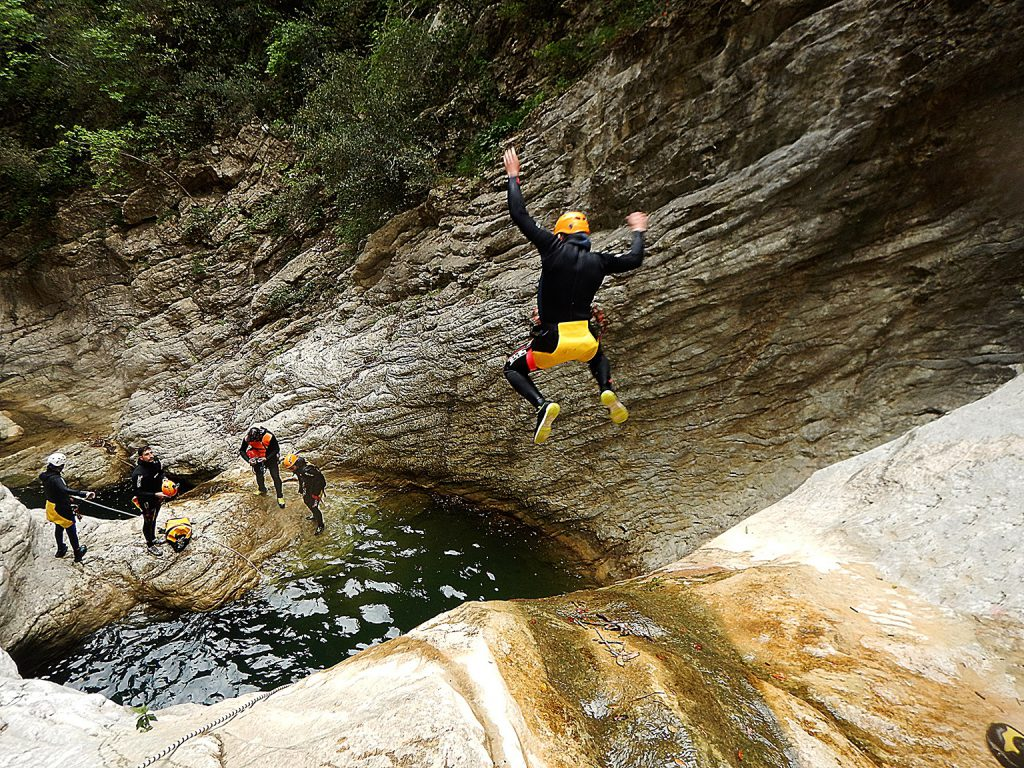 Canyoning in Umbria