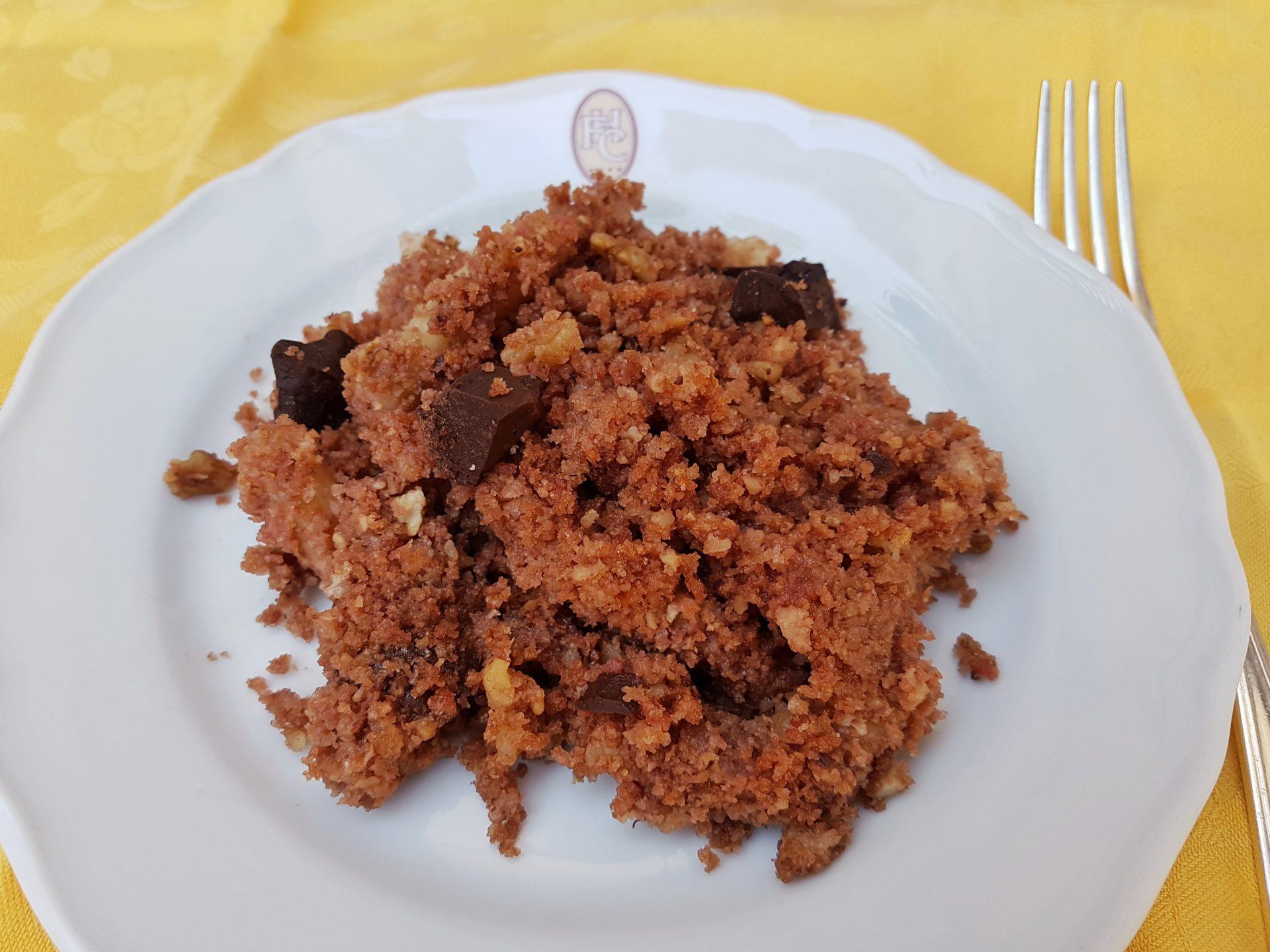 Hotel Fonte Cesia - maccheroni -pasta - sweet pasta- recipe- ricetta - Maccheroni dolci-