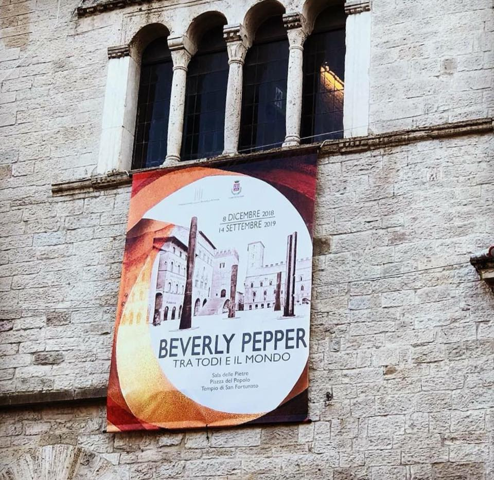 Todi - Beverly Pepper - Beverly pepper tra Todi e il mondo - mostra -Todi - Beverly Pepper between Todi and the world – 2019