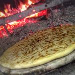 la pizza sotto 'l foco - torta al testo - pizza Umbra - Umbrian flatbread