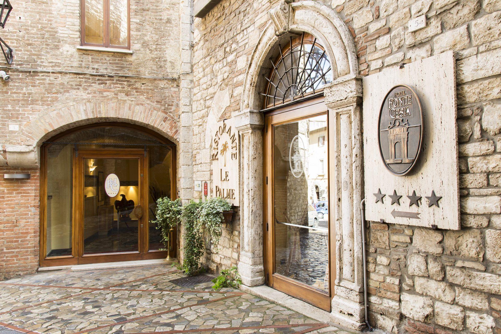 Hotel Fonte Cesia - Ingresso- entrance