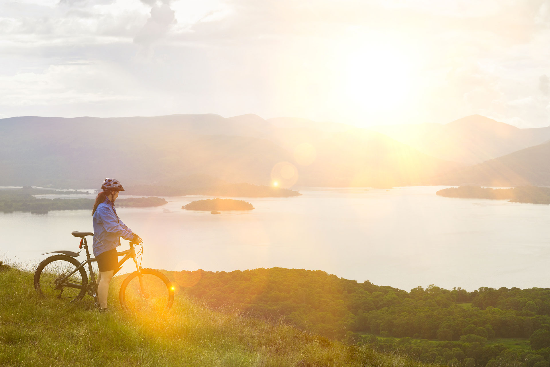 itinerari bici umbria: todi lago di corbara