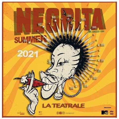 Negrita Touìr - Todi - 18 Luglio 2021